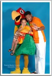 Gilyto com o Papagaio