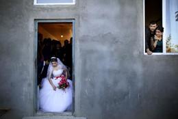 Jovem noiva em Cachétia, Geórgia