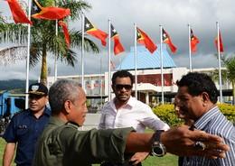 Preparativos Palácio Presidencial