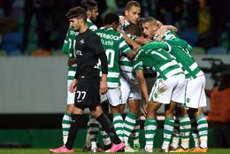 Sporting festeja golo da vitória