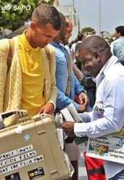 Chegada de Stromae a Cabo Verde