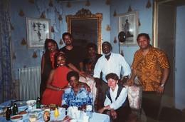 Com o grupo Cesária and friends em Vichy (2002)