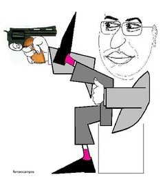 Antonio Costa caricatura