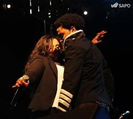 Gil Semedo e Dina Medina