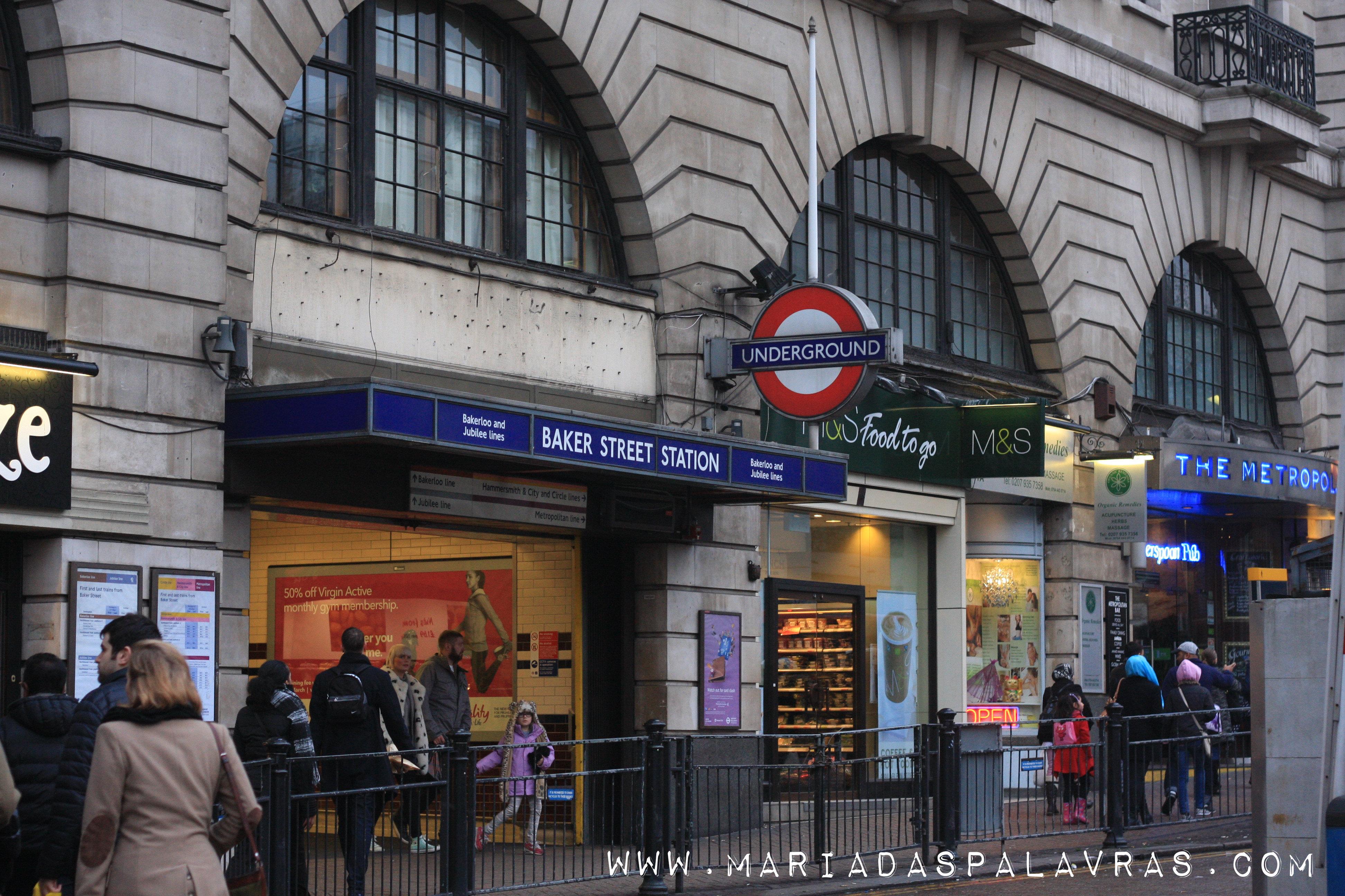 Baker Street - Londres | Maria das Palavras