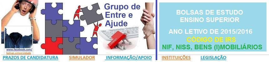Bolsas de Estudo_Ensino Superior_2015_2016_NIF, NI