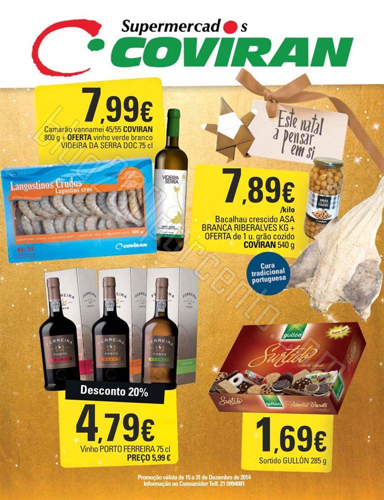 Novo Folheto COVIRAN Natal de 15 a 31 dezembro p1.