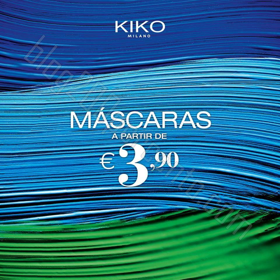 Promoção KIKO COSMETICS mascaras a partir de 3,90€