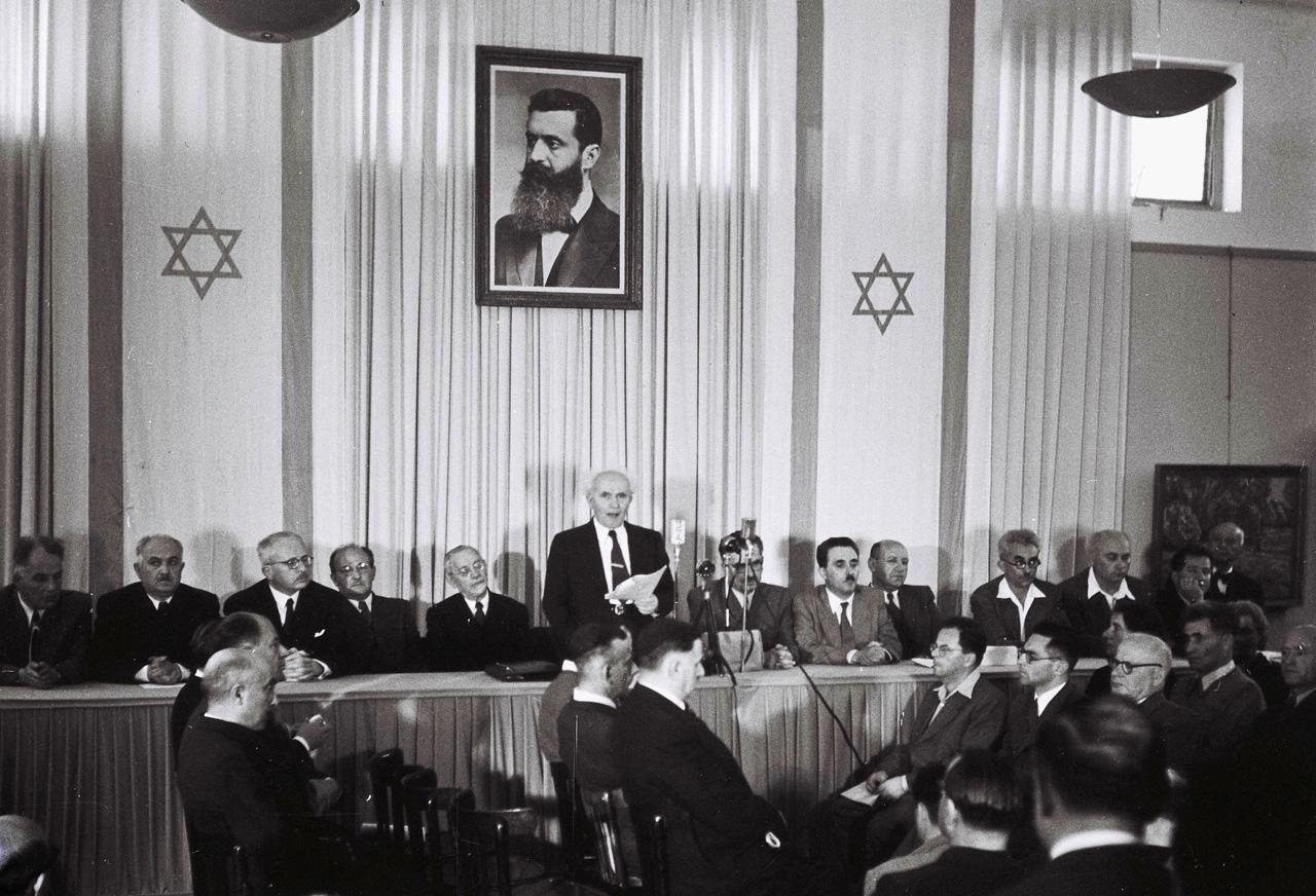 14 de Maio de 1948: Proclamação do Estado de Israel
