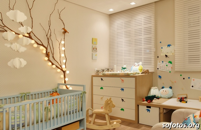 Como decorar um quarto de bebé Moda & Style ~ Quarto Safari Cinza