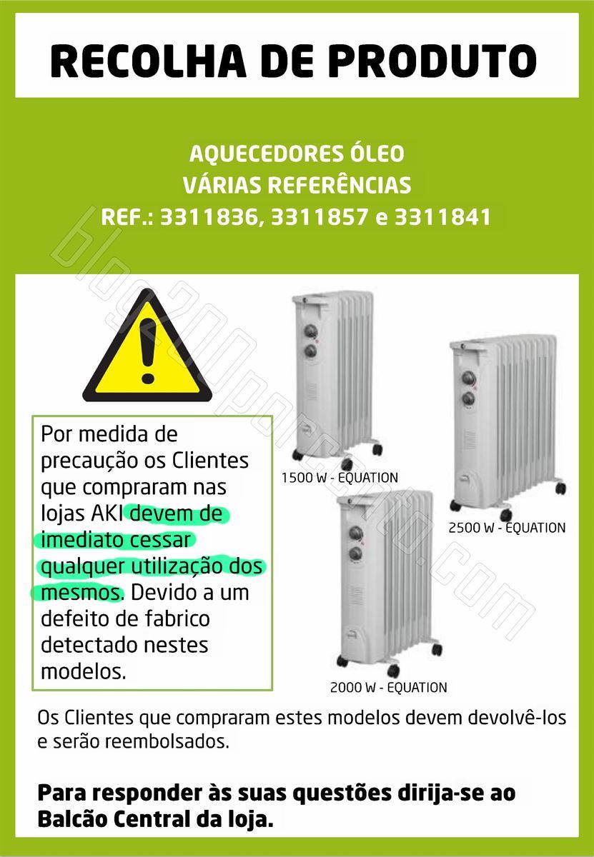 Alerta - Recolha de produto AKI - Aquecimento.jpg