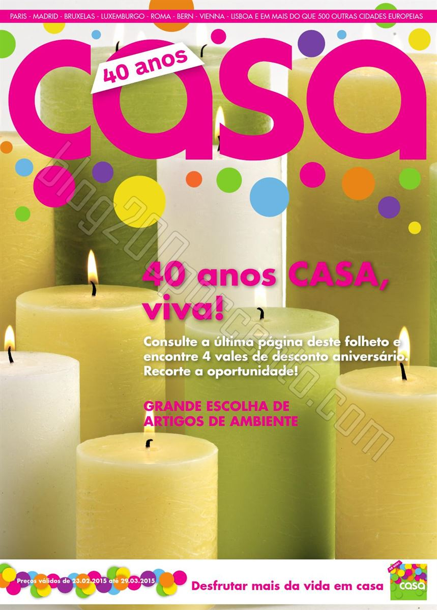 Antevisão Folheto CASA Aniversário de 23 feverei