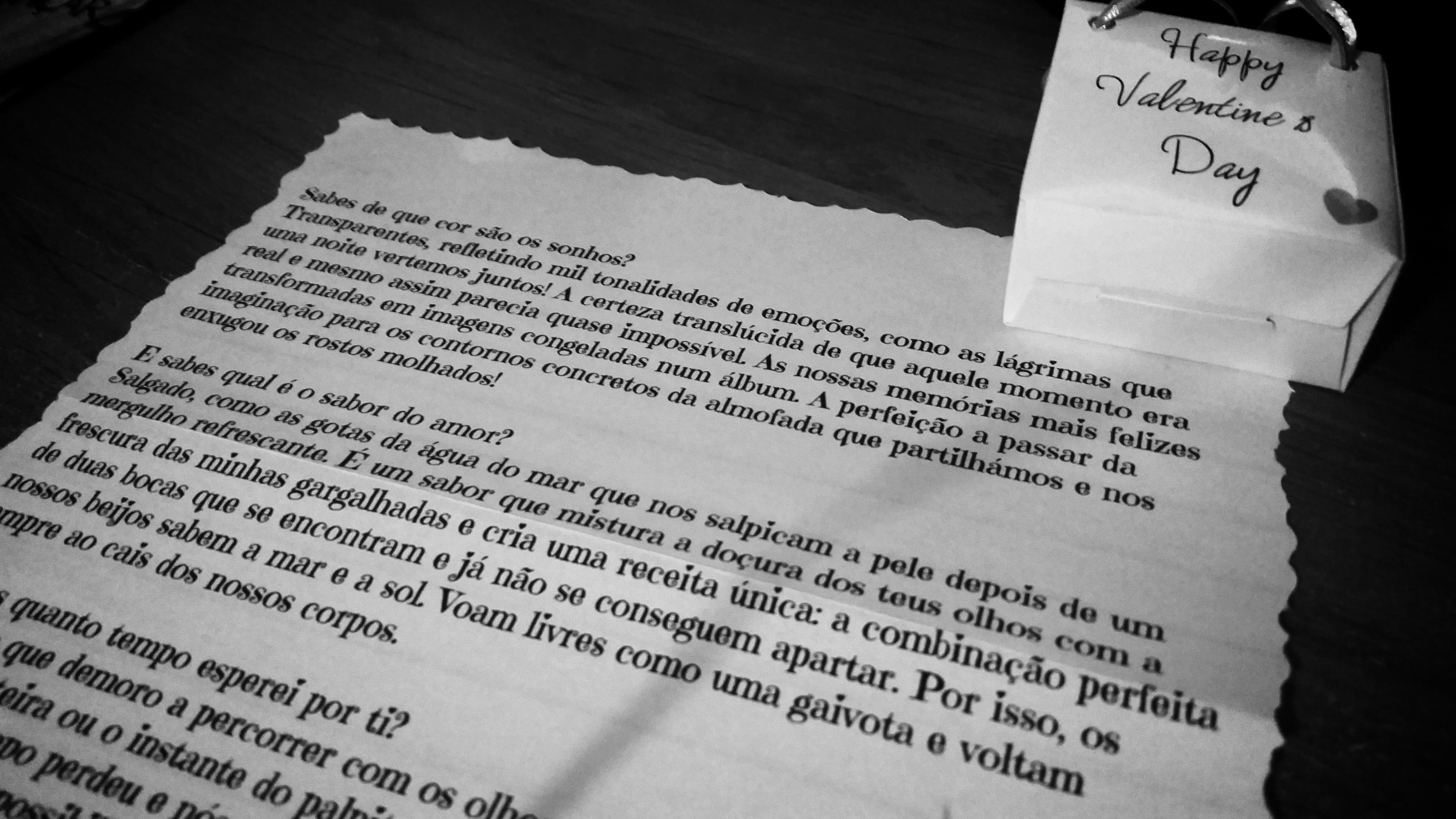 Carta Vencedor Passatempo - Cartas de Amor
