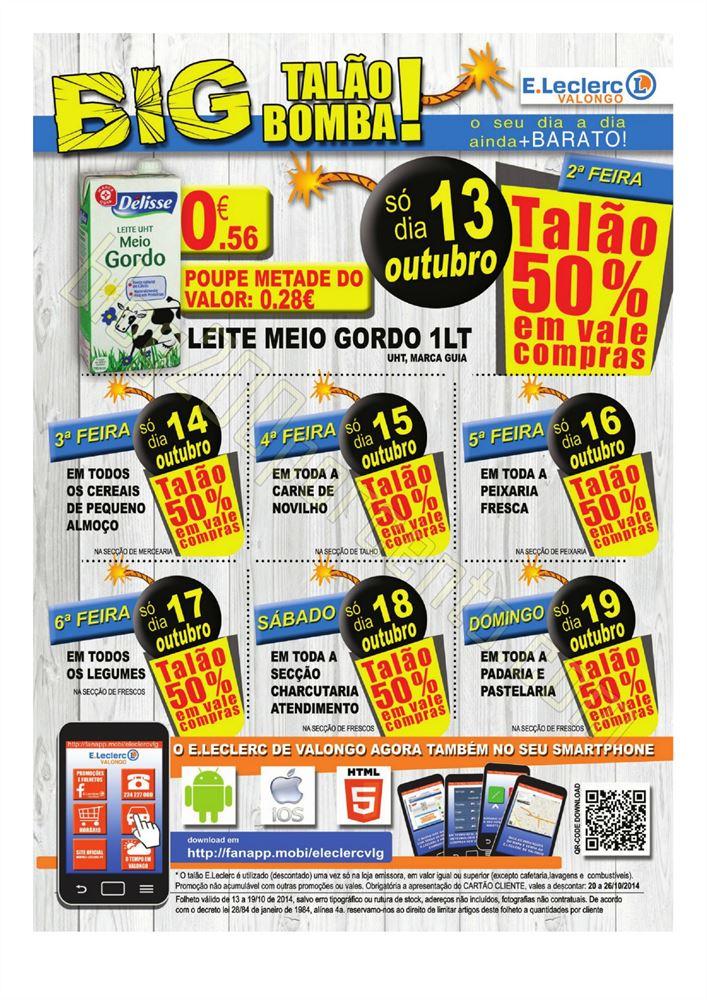 Folheto E-LECLERC Valongo de 13 a 19 de outubro p2