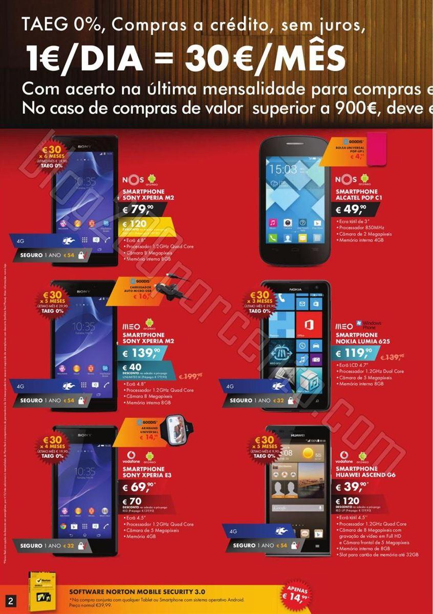 Novo Folheto WORTEN Mobile promoções de 4 a 17 f