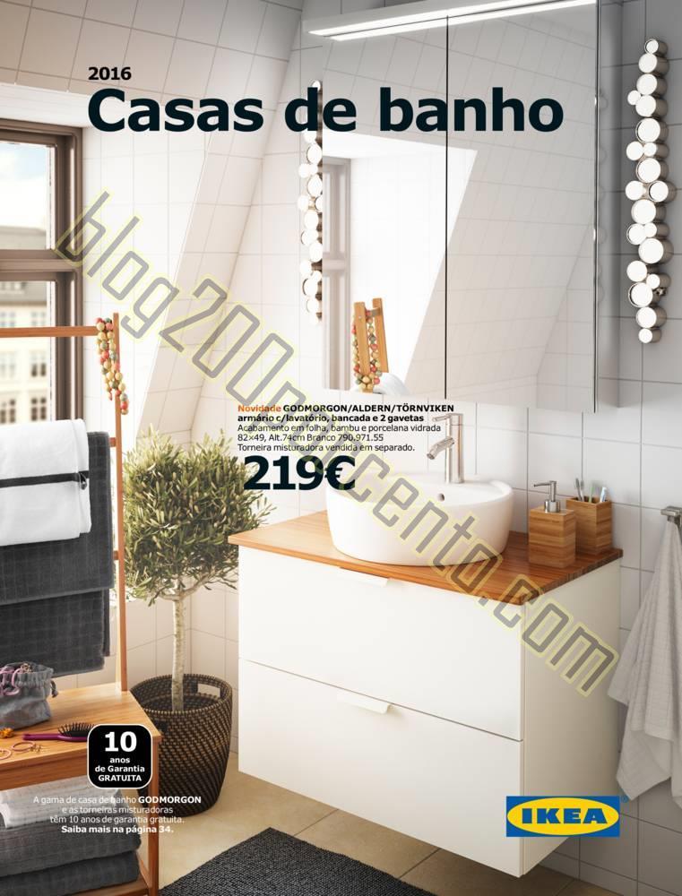 Novo cat logo ikea casa de banho 2016 promo es at 30 for Casas e ideas catalogo 2016