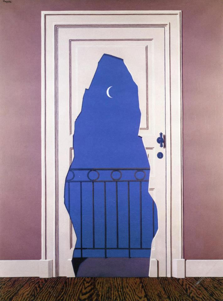 René Magritte, L'acte de foi (1960).jpg
