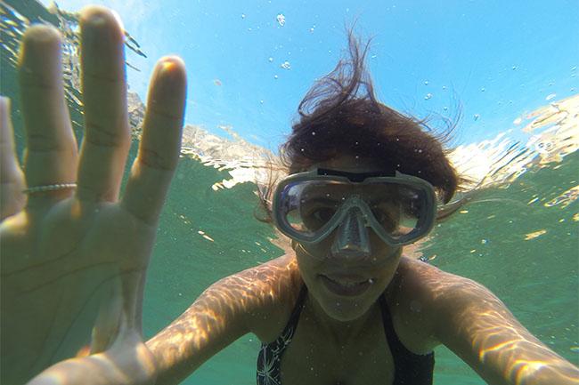 ich snorkeling