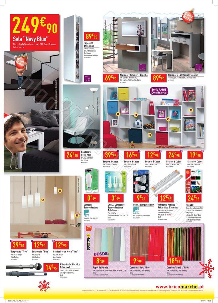 Novo Folheto BRICOMARCHÉ de 27 novembro a 14 deze