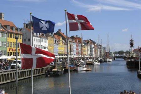 Copenhaga, a capital da Dinamarca, é a cidade mai