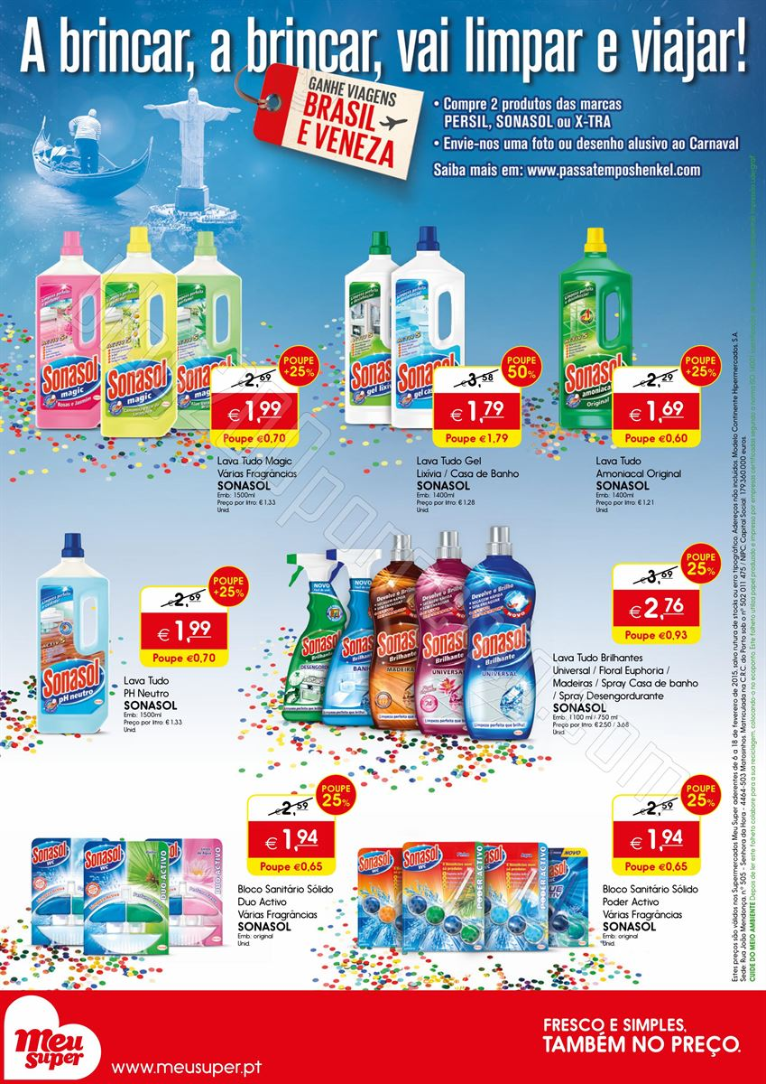 Novo Folheto MEU SUPER Limpeza e Higiene do lar at