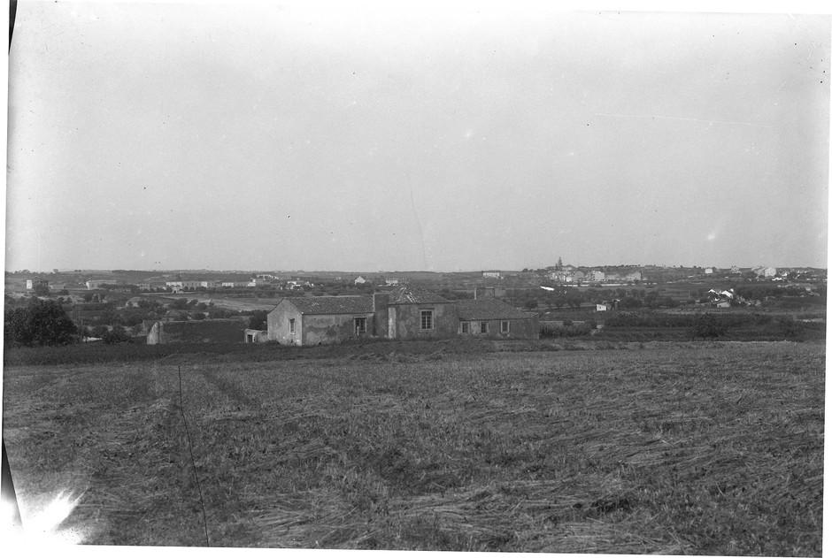 Vista das terras do futuro B.º de Alvalade, Lisboa (E. Portugal, 1945)