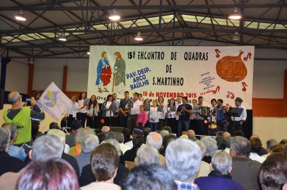 Encontro de Quadras de S. Martinho juntou 27 grupo
